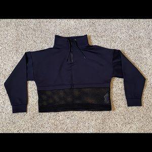 Ivy Park black crop hoodie. Size small